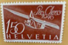 Switzerland 1938 Air Mail Stamp MLH