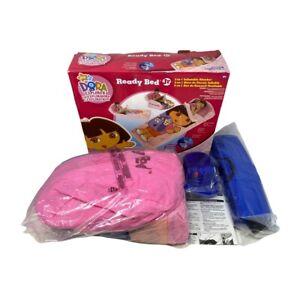 Dora The Explorer Ready Bed Jr. Girls Inflatable Mattress Sleepover Camping