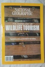 National Geographic June 2019     Wildlife Tourism Magazine NEW Sloth Cover