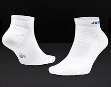 NIKE AIR JORDAN ULTIMATE FLIGHT 2.0 ANKLE BASKETBALL SOCKS - WHITE UK 5-8