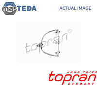 TOPRAN RIGHT FRONT WINDOW REGULATOR LIFTER LIFT 102 888 G NEW OE REPLACEMENT
