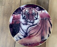 Franklin Mint Limited Edition Collectors's Plate - The Imperial Tiger