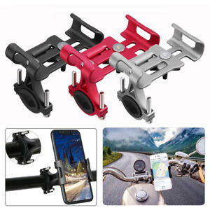 Aluminum Motorcycle Bike Bicycle Holder Mount MTB Handlebar For Cell Phone GPS