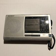 SONY ICF-SW11 Shortwave Radio FM Stereo MW LW SW 12-Band Receiver W/ Manual
