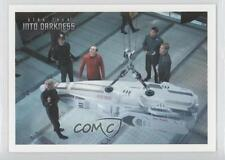 2014 Star Trek: Into Darkness #28 Aboard the Enterprise Scotty refuses Card 0a1