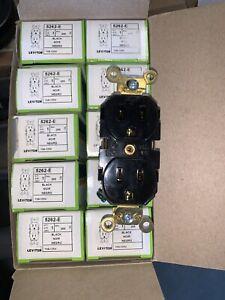 (10 Pack) LEVITON 5262-E 15A 125V DUPLEX RECEPTACLE EXTRA HEAVY DUTY INDUSTRIAL