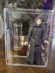 Star Wars Vintage 1984 UKG 85% EMPEROR , Not AFA , Laser cut