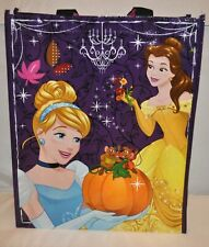 Halloween Trick Or Treat Bag 16 x 13 Disney Princess Belle Cindy Candy Tote NEW