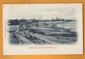 Kent- Tankerton Beach Whitstable.  Postcard