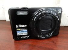 Nikon COOLPIX S7000 fotocamera digitale 16.0MP - Nero