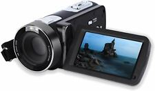 Video Camera Camcorder,Digital Camcorder Recorder with Beauty Face DIS FHD 1080P
