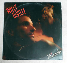 "DISQUE VINYLE MAXI 45 T INT/WILLY DEVILLE""MIRACLE""POLYDOR 887 063-1"