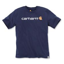 Carhartt Core Logo T-shirt S/s Navy M