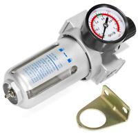 "Single 3/8"" Regulator Control Unit Filter Lubrication Air Compressor Water Trap"