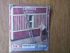 Osborn Model Kits HO Scale Ladders 10 pack  RRA-1058 Bob The Train Guy