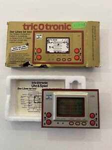Game & Watch Nintendo Lion TricOtronic Complet In Box