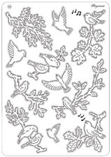 Pergamano Multi Grid No 46 Perforating Parchment Birds 31476