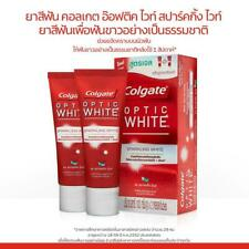 Pack of 2 * 100G.  COLGATE OPTIC WHITE SPARKLING WHITE TOOTHPASTE
