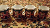 000 Set of 4 Nutcracker Coffee Tea mugs Christams Season Vintage?