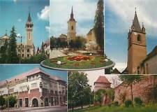 Romania Marosvasarhely Targu Mures floral clock & multi views