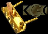 The Original Killer Brass Claw -MILLED Tremolo Spring Claw - Strat, Ibanez Floyd