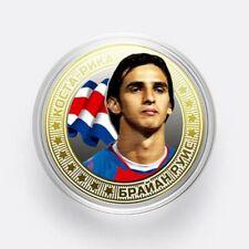 Coins 10 rubles-2018 World Cup-Russia- Costa-Rica- Bryan Ruiz -UNC!