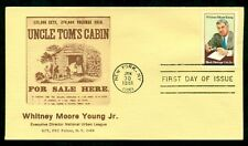 WHITNEY MOORE YOUNG JR. UNCLE TOM'S CABIN FOR SALE HERE, 1981 FDC