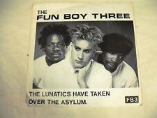 THE FUN BOY THREE  The Lunatics Have Taken Over The Asylum  7 SP