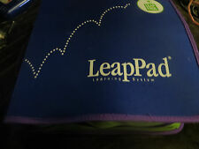 LEAPPAD LEARNING SYSTEM , CASE, 9 BOOKS W/ INSERTS
