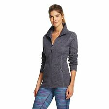 C9 by Champion Women's Sweater Fleece Jacket Military Blue Heather - Size Small