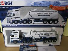 Corgi Modern Truck /Heavy Haulage/Volvo FH Cab Unit & Tanker Trailer/SimonGibson