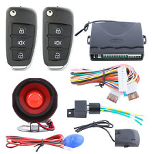 New listing Quality car alarm system keyless entry central door lock locking spare key blade