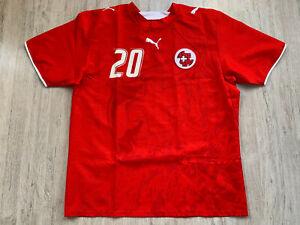 2006 08 Schweiz Fußball Trikot Switzerland Football Shirt Suisse Jersey Puma L