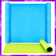 SILICONE MAT Oversize Thick Nonstick Craft Mats for Resin Molds 2 Pack LEOBRO