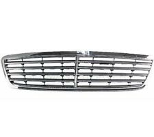 Mercedes C Class W203 Avantgarde 01 - 04 Front Grill Center Grille Grey / Chrome