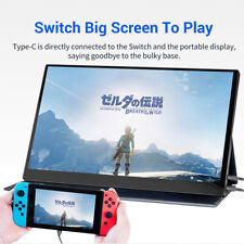 """Eyoyo 15.6"""" 4K Monitor HDR 3840 X 2160 IPS USB-C Gaming Monitor Fit PS4 Pro/XBOX"""