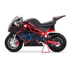 FREE SHIPPING RED 500 WATT KID ELECTRIC MINI BIKE MOTORCYCLE 36V DB40E_R