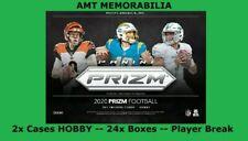 Philip Rivers Colts 2020 Panini Prizm HOBBY 2X CASE 24X BOX BREAK #1