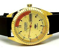 citizen gold plated automatic men's Japan made movement No 8200 run order