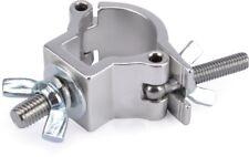 Riggatec Halbschelle - Halfcoupler klein silber bis 75 kg (32 - 35 mm)