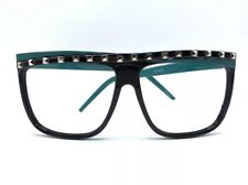 Party Rock Raving LMFAO Shuffling Teal Glasses FLAP TOP New Style