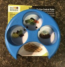 Meal Measure Portion Control Plate Divider Vegetable Fruit Protein Starch