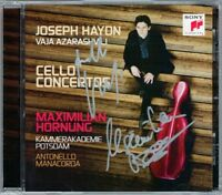 Maximilian HORNUNG, Antonello MANACORDA Signed HAYDN 2 Cello Concerto AZARSHVILI