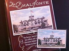 Cape May Nj Chalfonte Hotel -Actual Postcard Used On Cover Of Book On Hotel-