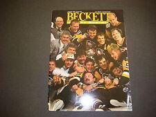 Beckett Hockey Monthly Magazine  August 1992 Bob Probert Gary Roberts M2183
