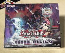 YU-GI-OH! SHADOW SPECTERS 1ST EDITION BOOSTER BOX KONAMI FACTORY SEALED