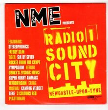 (GX381) Radio 1 Sound City, 16 tracks various artists - 1998 NME CD
