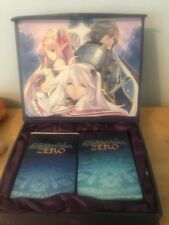 Record of Agarest War Zero playing & trading card decks box set JRPG RPG anime