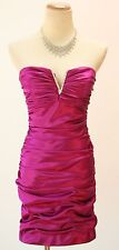 Hailey Logan $90 Short Strapless Evening Prom Formal Cocktail Dress size XS NEW