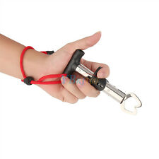 Fishing Gear Gripper Stainless Steel Fish Lip Grabber Grip Trigger Tackle